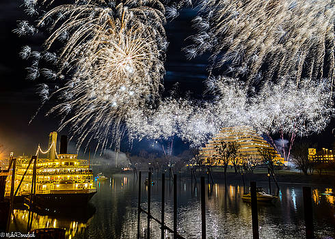Sacramento New Years Eve by Mike Ronnebeck
