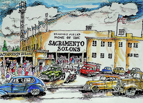 Sacramento Solons by Terry Banderas