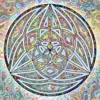 Sacred Geometry Rainbow by Joy McKenzie