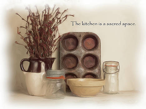 Sacred Kitchen Quote by Vicki McLead