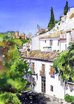 Sacromonte Granada by Margaret Merry