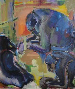 Sad Monkeys by Lilli  Ladewig