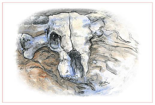 Sad Skull by Ida Brown