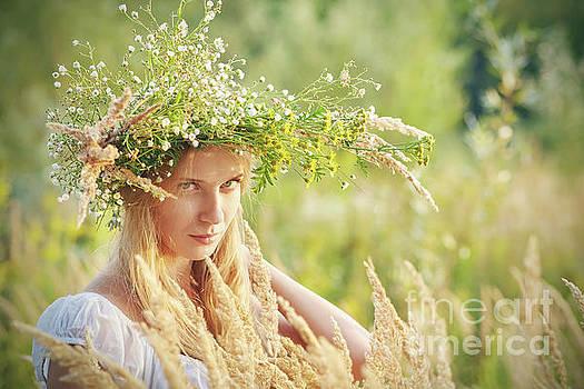 Sad Young Woman by Aleksey Tugolukov