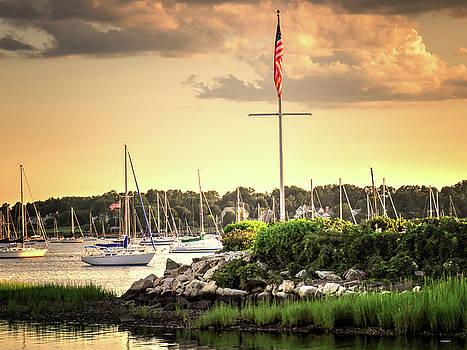 Safe Harbor Bristol RI by Tom Prendergast