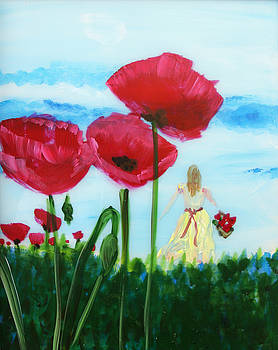 Safe Poppies by Jamie Hartley
