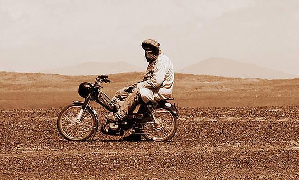 Ramona Johnston - Sahara Biker