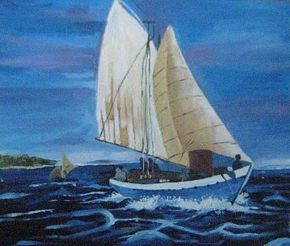 Sail by Akhilkrishna Jayanth