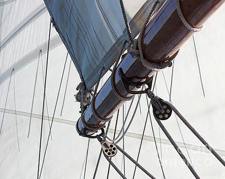 Sail and Boom 1 by Cheryl Del Toro