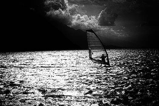 Sailboarder by Frank Andree