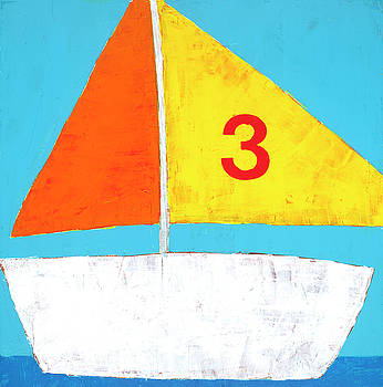 Sailboat by Laurie Breen
