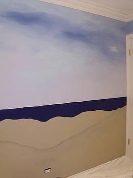 Anna Villarreal Garbis - Sailboat Mural I