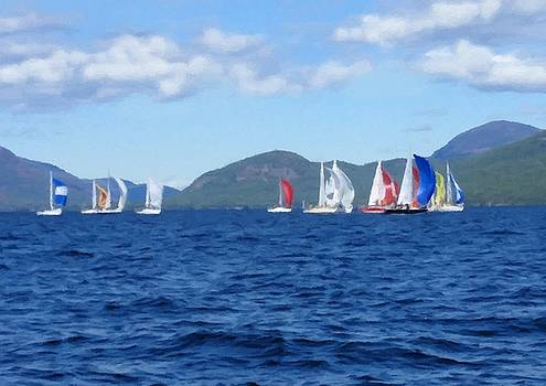 Sailboat Regatta by Linda Seifried