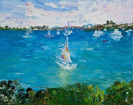 Sailboat by Tara Leigh Rose
