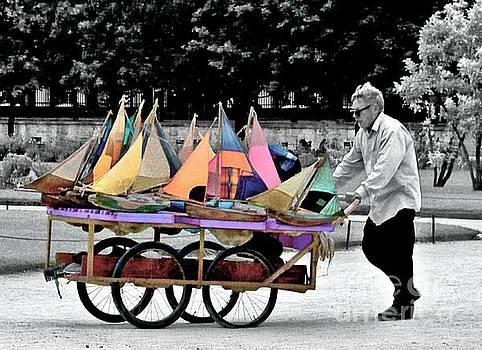 Sailboat Vendor by Lilliana Mendez