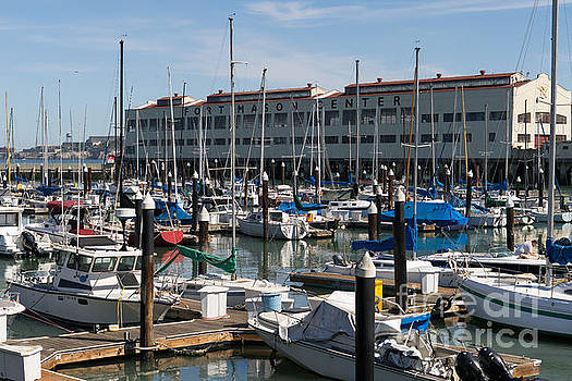 Wingsdomain Art and Photography - Sailboats At Fort Mason Gashouse Cove East Harbor San Francisco California DSC3138
