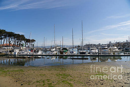 Wingsdomain Art and Photography - Sailboats At St Francis Yacht Club Harbor San Francisco California DSC3092