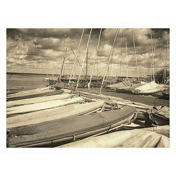 Sailboats Up At Maylandsea  photo And by Fine Art By Andrew David