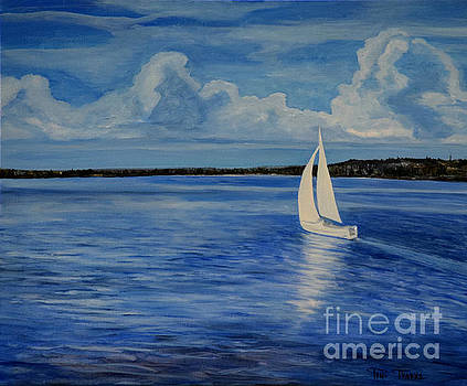 Sailing Away by Toni  Thorne