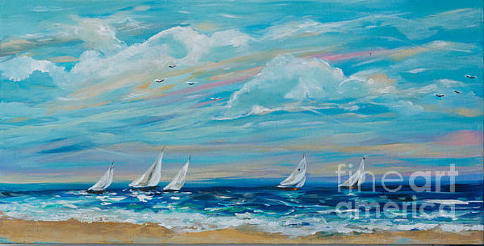 Sailing Close to the Shore by Linda Olsen
