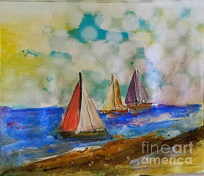 Sailing for Three by Sherry Harradence