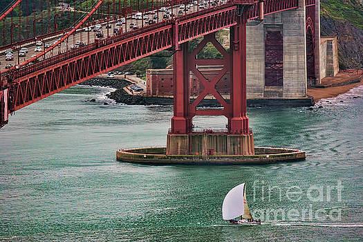 Chuck Kuhn - Sailing Golden Gate San Francisco