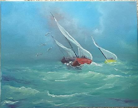 Sailing Home by Patti Lane