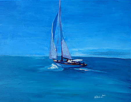 Sailing into the Blue by M Bleichner
