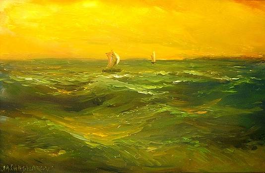 Sailing by Michael Chesnakov