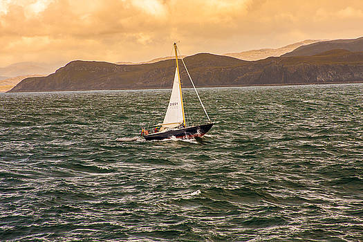 Sailing Outer Hebrides by Kathleen McGinley