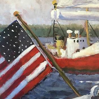 Sailing by Susan E Jones