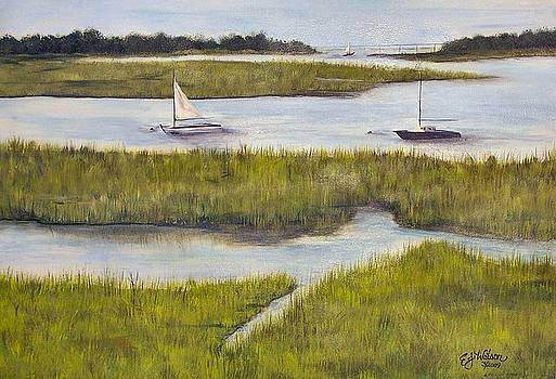 Sailing the Inlet by Cindy Watson