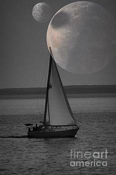 Sailing with Planet View by Deniece Platt