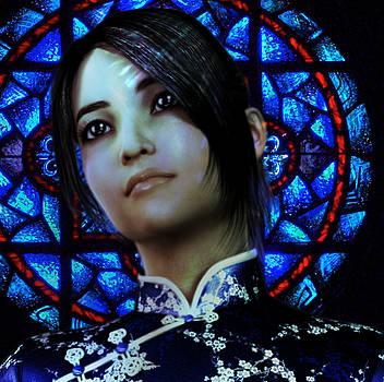 Saint Anna Wang 6 by Suzanne Silvir