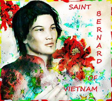 Saint Bernard Due of Vietnam poster by Suzanne Silvir