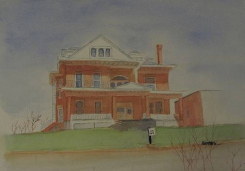 Saint Clairsville Mansion 2 by David Bartsch