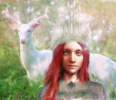 Saint Dymphna the Healer by Suzanne Silvir