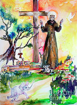Ginette Callaway - Saint Francis of Assisi Italy