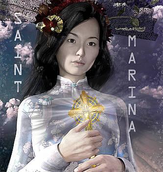 Saint Marina of Japan by Suzanne Silvir