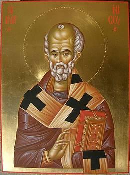 Saint Nicholas by Daniel Neculae