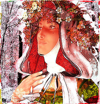 Saint Rose of Lima Noel by Suzanne Silvir