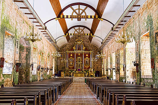 Saints Peter and Paul Parish Church in Bantayan by James BO Insogna