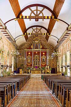 Saints Peter And Paul Parish Church Portrait View by James BO Insogna