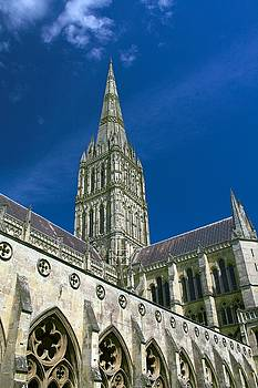 Salisbury Cathedral by Peter McAuley