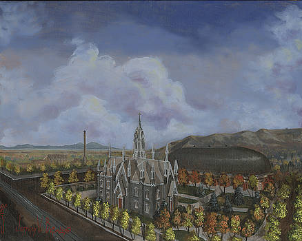Jeff Brimley - Salt Lake City Temple Square Nineteen Twelve Left Panel