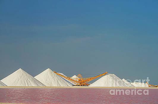 Salt pans by Patricia Hofmeester