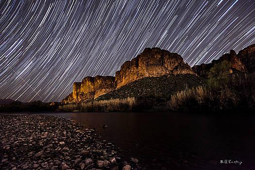 Salt River Star Trails by Bill Cantey