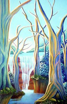 Saltwater Falls 2 by Barbara Stirrup