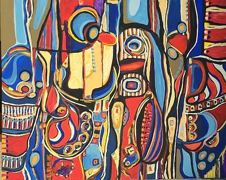 Salvaje # 8 by Jeffrey Davies