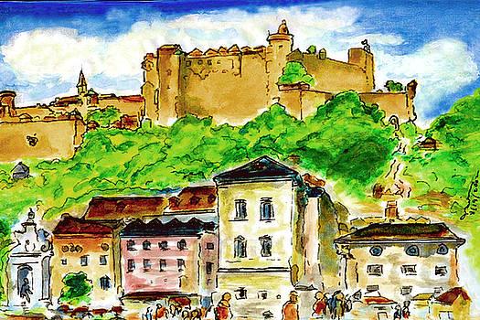 Salzburg Austria jGibney The MUSEUM by The MUSEUM Artist Series jGibney